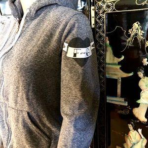Fightergirls american hoody plaid leggings pants S